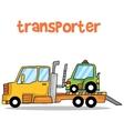 Transporter car of art