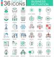 Business motivation discipline modern color vector image