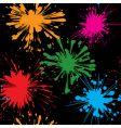 splash background seamless vector image