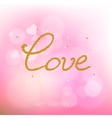 Valentine day abstract background vector image