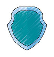 badge security emblem vector image vector image
