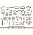Icon Kitchen Tools vector image