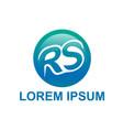 Initials rs logo