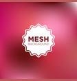 mesh background in shocking pink color palette vector image vector image
