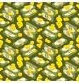 Money isometric seamless pattern vector image