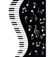 Music piano note vector | Price: 1 Credit (USD $1)