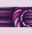 pattern with geometric waves stylish texture vector image vector image