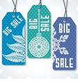 Sale tags design for price vector image vector image