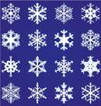 snowflakes2 380x400 vector image vector image