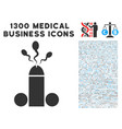 sperm ejaculation icon with 1300 medical business vector image vector image