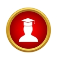 Student icon simple style vector image vector image