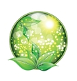 World environment day sign on white background vector image vector image
