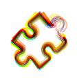 abstract icon on white background Eps10 vector image