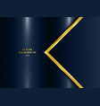 abstract template geometric with golden border
