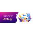 business direction concept banner header vector image