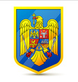 Coat of arms of Romania vector image vector image