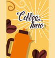 Coffee time card