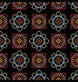 embroidery for stylish napkins vector image vector image