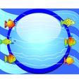 Fish Aquarium Background vector image vector image