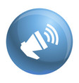 loud megaphone icon simple style vector image