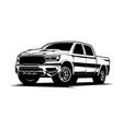 off road car vector image vector image