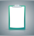 paper a4 icon on the grey background vector image vector image