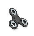 fidget spinner toy vector image vector image