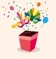 gift box design vector image