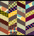 imitation of a patchwork vector image