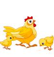 mother hen vector image