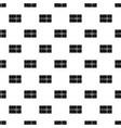 postal parcel pattern vector image vector image