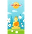 Thailand Travel Poster vector image vector image
