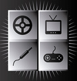 video games vector image vector image