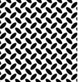 Seamless monochrome diagonal ellipse pattern vector image vector image