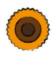 sunflower icon image vector image vector image
