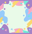 abstract geometric style pastel colors sameless vector image vector image