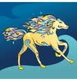Arabic Horse vector image