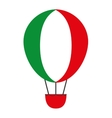 balloon air flying isolated icon vector image
