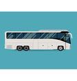 Coach Bus Icon vector image vector image