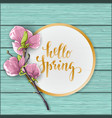 flat lay style mother s day greeting card with vector image vector image