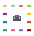 tools box flat icons set vector image vector image