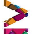 3d font symbol vector image