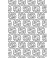 abstract black and white seamless pattern vector image vector image