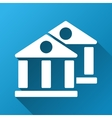 Banks Gradient Square Icon vector image