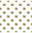 book professor pattern seamless vector image vector image