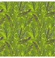 Botanical seamless pattern with French vector image vector image
