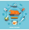 Cooking Flat Template vector image vector image