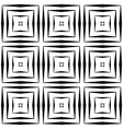Design seamless square pattern vector image vector image