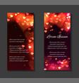 festive leaflets flyers brochure template vector image vector image