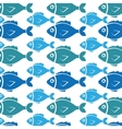 Fish icon graphic design vector image vector image